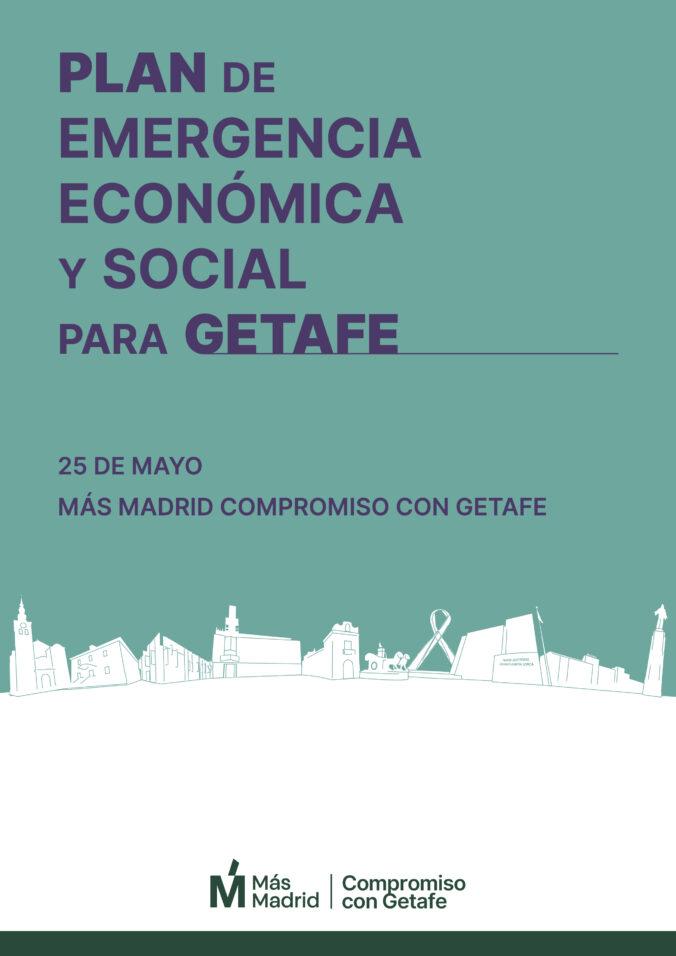 Portada del Plan de Emergencia Económica y Social para Getafe