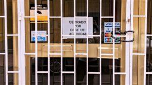 Negocio de Getafe cerrado acausa de la pandemia