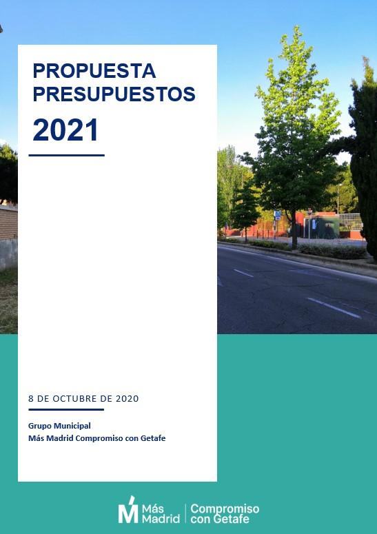 Propuesta presupuestos 2021