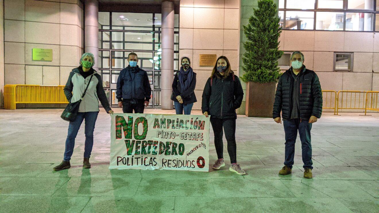 Más Madrid en la concentración