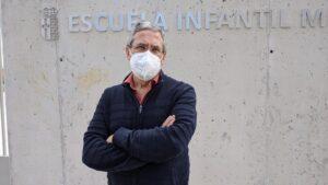 Jesús Pérez en la Escuela Municipal Buenavista (Getafe)