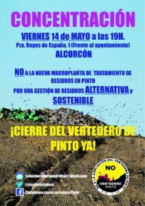 Concentración en Alcorcón el viernes 14 de marzo de 2021