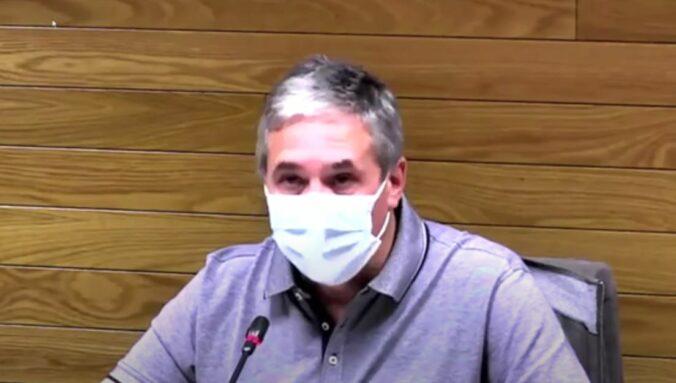 Jesús Pérez en el Debate del Estado del municipio de Getafe - 7 octubre de 2021